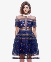 Embroidered Flower Dresses