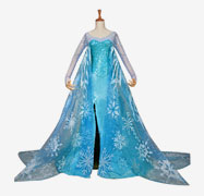 Kids Princess Elsa Dress
