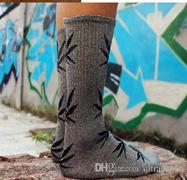 Leaf Print Socks