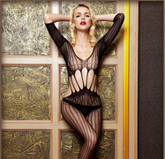 Mesh Hole Bdsm Body Stocking