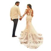 Vestidos de boda de la sirena