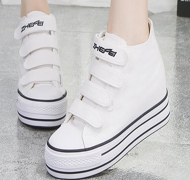 High-top Velcro fashion shoes