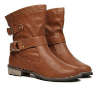 Women retro British style Martin boots Motorcycle