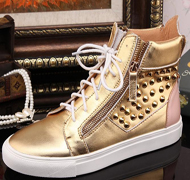 2014 crystal high top sneakers