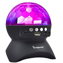 Rotating Magic Ball speaker Light with Wireless Bluetooth Speaker Mini Card Slot Rotating For KTV Xmas Party Club Pub Disco DJ