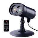 Alien Wireless Control Laser Christmas Lights, Red and Green Outdoor Star Projector