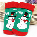 Newborn Baby Christmas Cartoon Socks