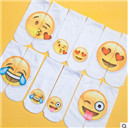 3D Emoji Pattern Socks