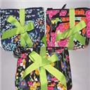 NWT Vera Bradley Cosmetic Bag Trio : Floral Chandelier, Ziggy Zinnia, Wildflower