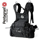 Genuine Pentagram star multifunctional Purse / small backpack / riding backpack