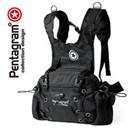 Genuine Pentagram star multifunctional Purse / small backpack / riding backpack