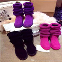 Wool Knitting Snow Boot