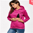 Maternity Pullover Hoodie with Pockets
