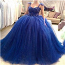 sequin ball gown
