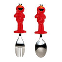 Sesame Street Toddler Fork and Spoon