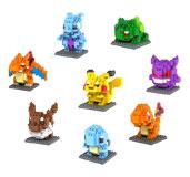 Pocket Monster Charmander building blocks