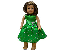 American Girl Butterfly With Paillatte Doll Skirts