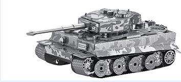 3D Puzzle DIY Tank