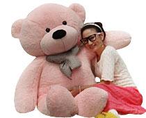 160cm Pink Life Size Teddy Bear