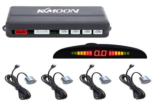 Car Parking 4 Sensor System LED Display