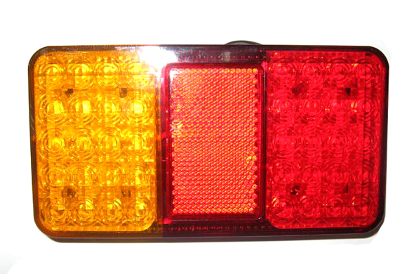 LED BOAT TRAILER TRUCK TAIL LIGHT E-MARKER APPROVAL