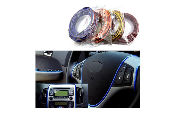 Car 5meters Decorative thread sticker interior decoration