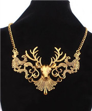 Fashion Deer Choker Necklaces