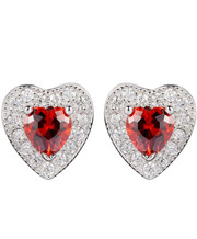 Cubic Zirconia 925 sterling Silver Earrings