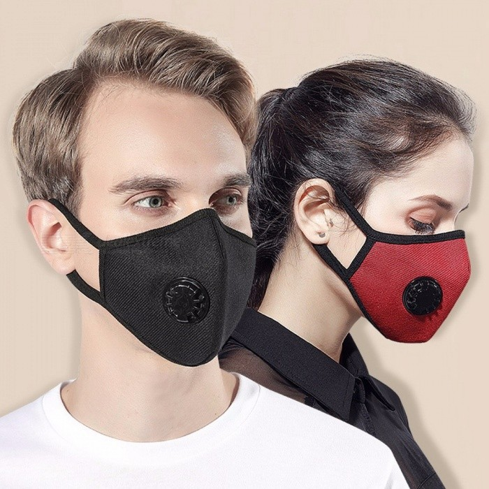 PM2.5 Mouth Mask Anti Dust Mask Windproof Mouth-muffle Bacteria Proof Flu Face Masks Care