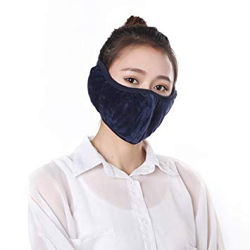 XIN Winter Keep Warm Ear Protective Mouth Mask Windproof Mouth-Muffle Anti Dust Masks Anti Haze Face Masks