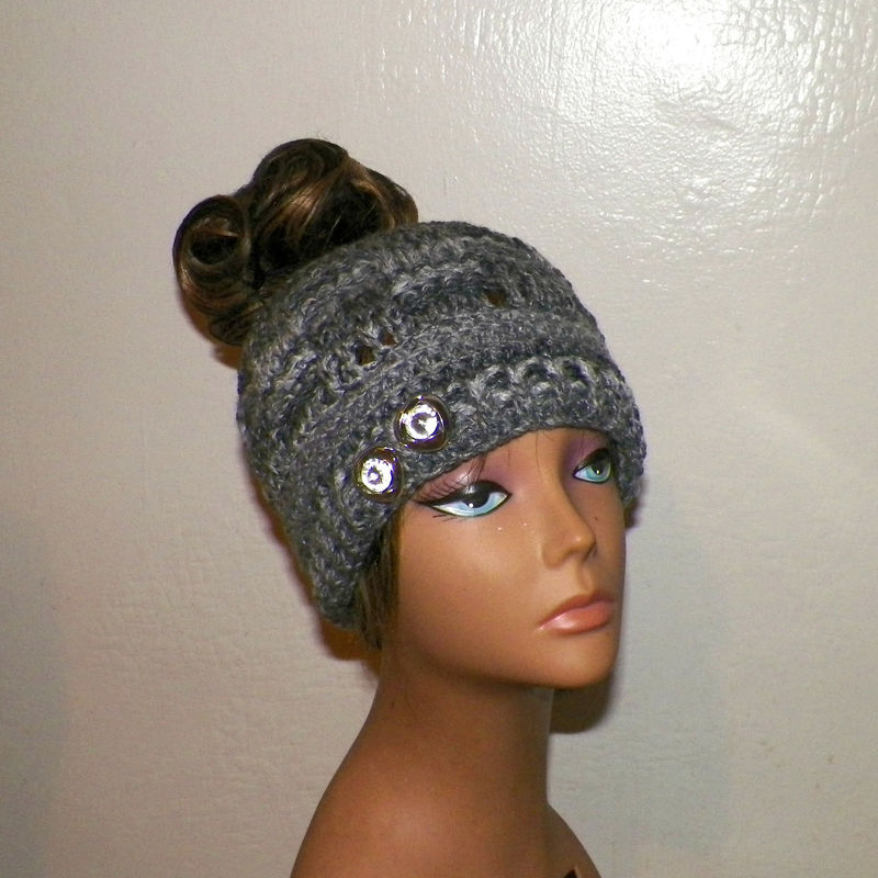 Crochet Winter Womens Ear Warmer Hat