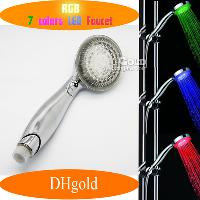 New Fashion Dreamlike 7- color Change LED Shower Heads