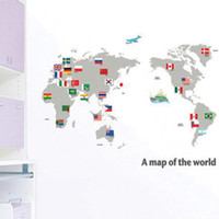 TC- 2100 Leisure Parlor Synthetic membranes 50*70cm World Map