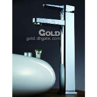 Bathroom Brass Faucet with Ceramic catridge and Single Handl...