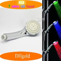 Automatic Control 7- color Change Shower Heads