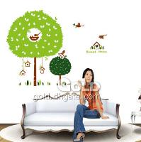 DM69_0034 Bird nest wall sticker