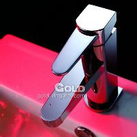 Bathroom Brass Faucet with Ceramic catridge and Single zirca...