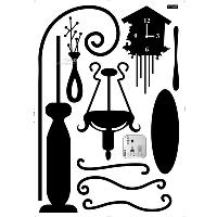 LD_642 House furniture parlour wall sticker