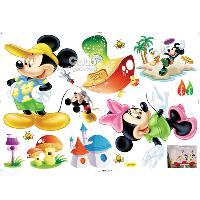 LD_670 cartoon children's bedroom wall sticker