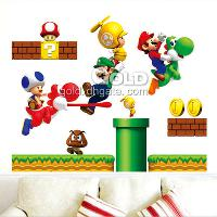 DM57_0068 Removable Super Marie Wall Stickers