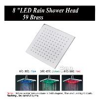 Temperature Sensing Three Colors LED Light 8 inch Square Rai...
