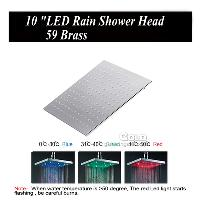12pcs LED Lights 10 inch Square Rain Temperature Sensing Sho...