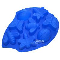 Silicone Butterfly and Bee Cake Molds LX- 101