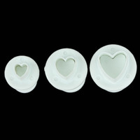 3 in 1 Set New Arrival Sugarcraft Heart Cutters LX- 110 High ...