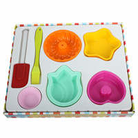 New Arrival Multi Function Ten- piece Set Cake Molds LX- 117 H...