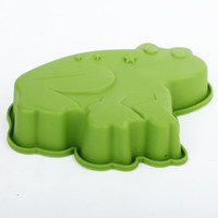 New Arrival Stylish Cute Silicone Frog Cake Molds LX- 119 Top...