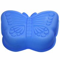 Hot Sale Wholesale Silicone Butterfly Cake Molds LX- 134 High...