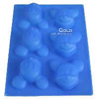 New Arrival Wholesale 6 in 1 Silicone Cake Molds LX- 141