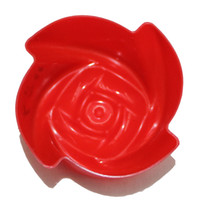 New Arrival Rose Shape Silicone Cake Molds LX- 149 High Quali...
