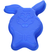 Rabbit Shape Silicone Cake Molds LX- 152